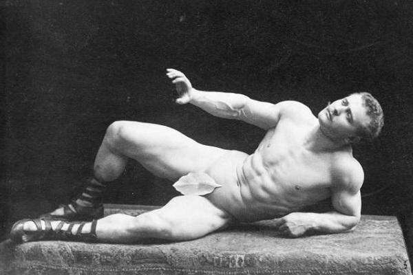Quem foi o primeiro homem com o corpo perfeito?