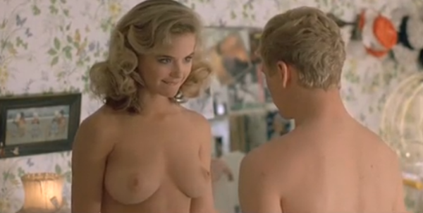 Kelly Preston topless