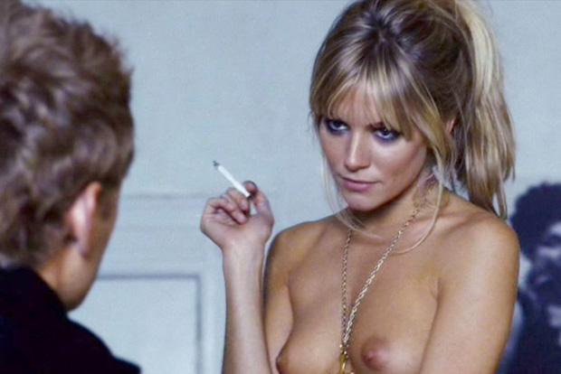 Sienna Miller topless