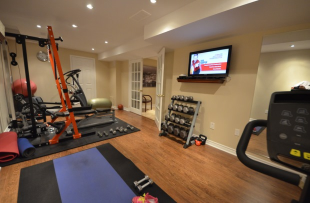 Exercise Area Small Room