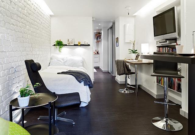 Como maximizar o espa o em apartamentos pequenos el hombre for Apartamentos minimalistas pequenos