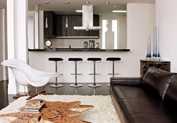 decoracao de sala e cozinha juntas simples:Decoracao De Cozinha E Sala