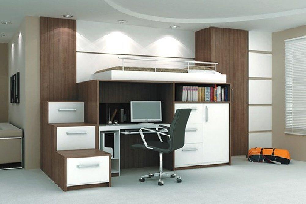 Como maximizar o espaço em apartamentos pequenos El Hombre ~ Quarto Planejado Infantil Italinea