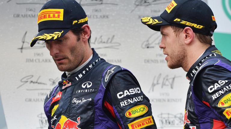 Vettel Webber Malásia