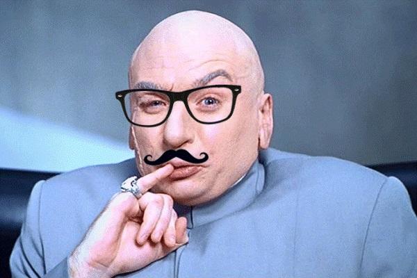 Dr Evil hipster