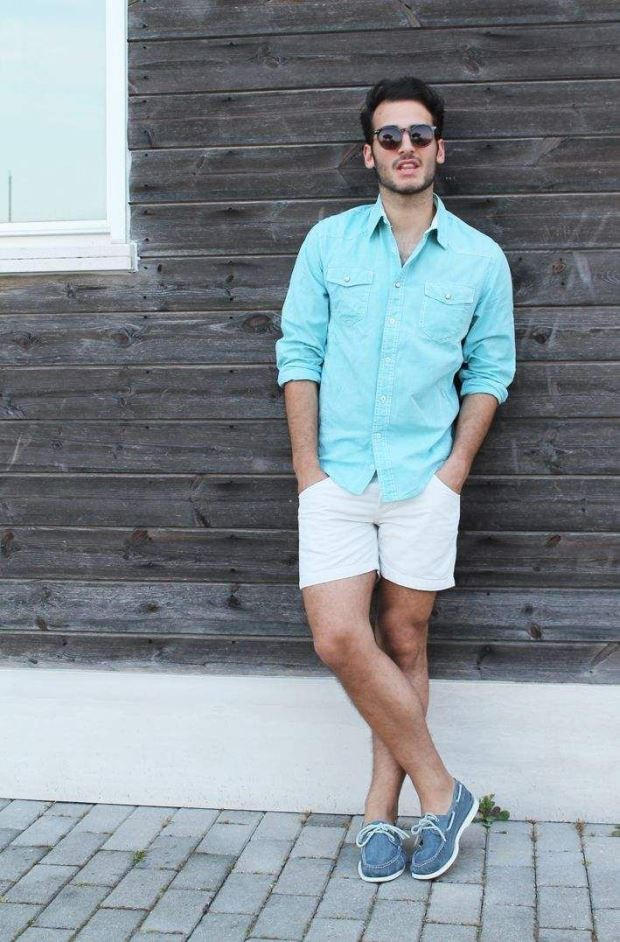 aquamarine-longsleeve-shirt-and-white-shorts-and-blue-canvas-boat-shoes-original-1915