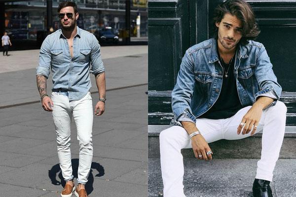 268193c6e3 Como usar calça branca masculina - El Hombre