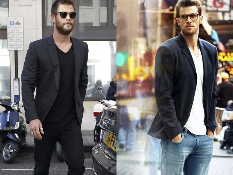 768c9dd7aa4 Blazer com camiseta  aprenda a mandar bem neste look - El Hombre