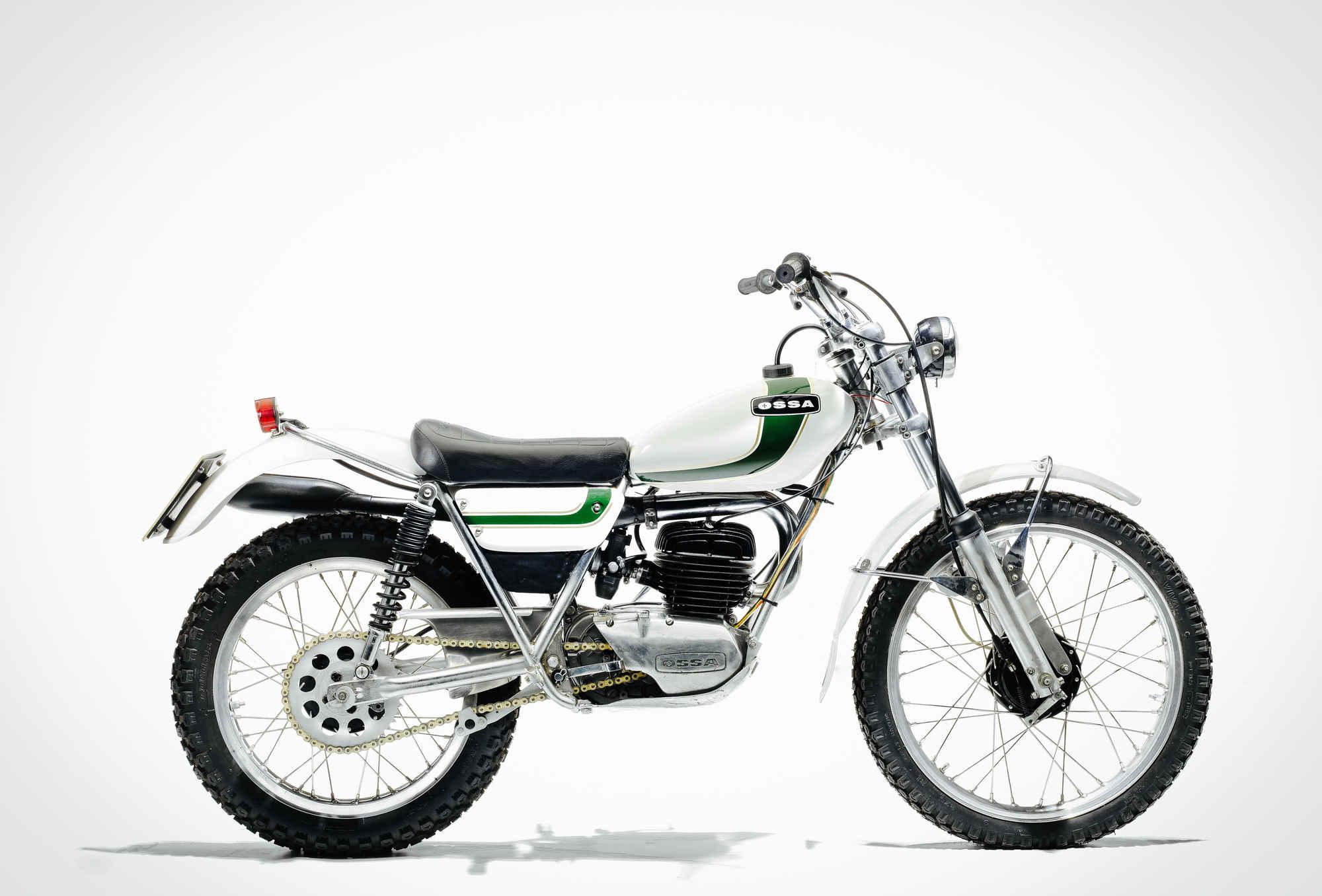 1980 Ossa 250CC MAR Trials Motorcycle