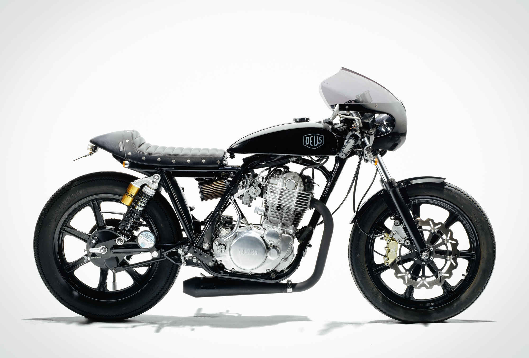 2010 Yamaha SR400 'Grievous Angel' by Deus Ex Machina