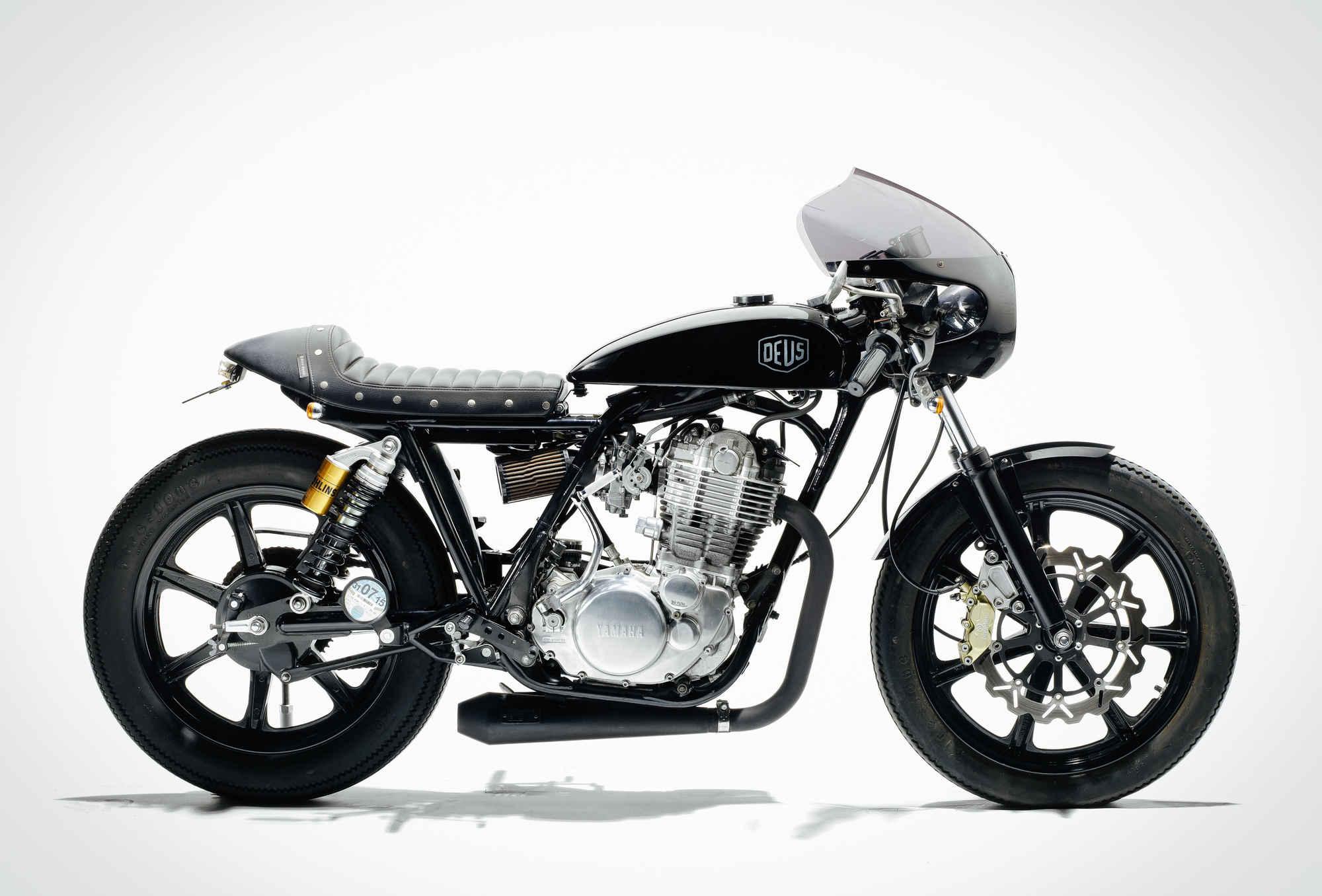 2010 Yamaha SR400 'Grievous Angel' by Deus Ex Machina