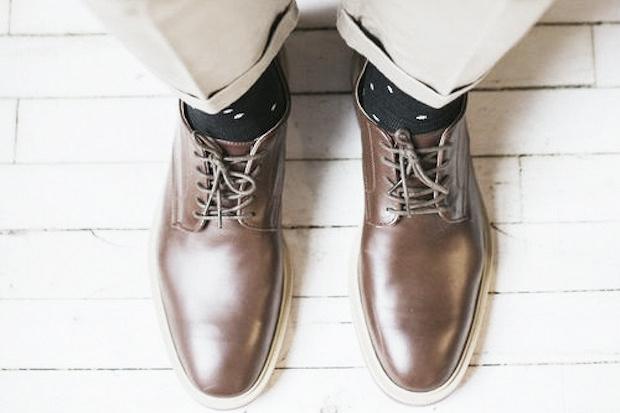 O estilo do Sapato Derby