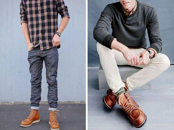 bota moc toe boots masculina