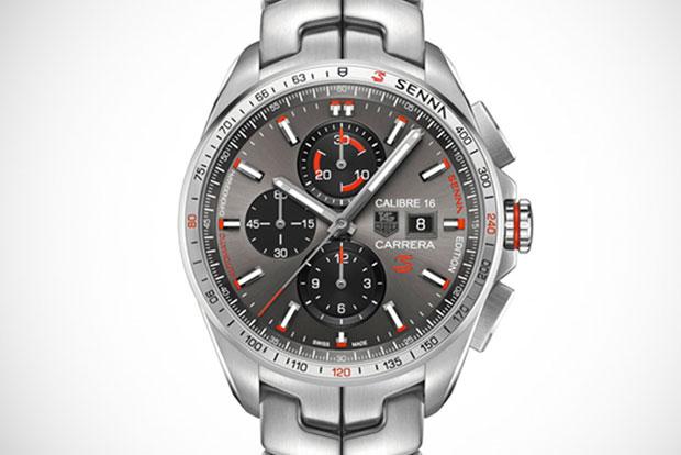 Tag Heuer lança coleção de relógios em homenagem a Senna