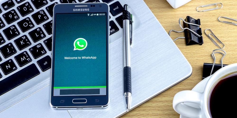 WhatsApp no trabalho