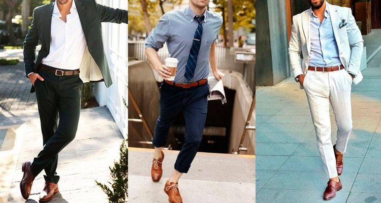 Resultado de imagem para como combinar cinto com sapato masculino