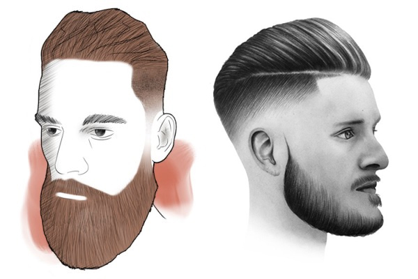 cortes de cabelo masculino undercut fade degradê