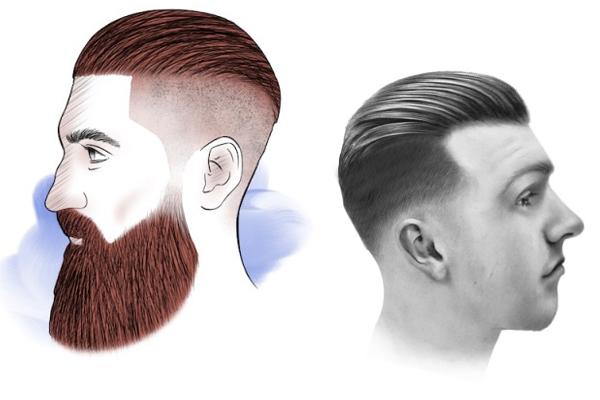 cortes de cabelo masculino slickback