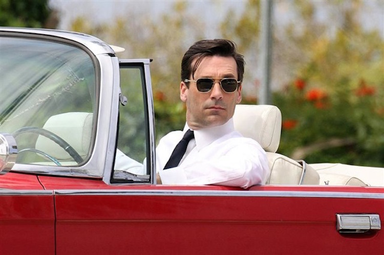 Mad Mens Jon Hamm film some scenes for his hoit show in Los Angeles. Jon drove a vintage Imperial for some driving scenes. Wednesday, May 5, 2010 NONEXCLUSIVE 37 Images Photogragh: Kevin Perkins, Pacificcoastnews.com ***FEE MUST BE AGREED PRIOR TO USAGE*** UK OFFICE: +44 131 557 7760/7761/7762 US OFFICE: + 1 310 261 9676