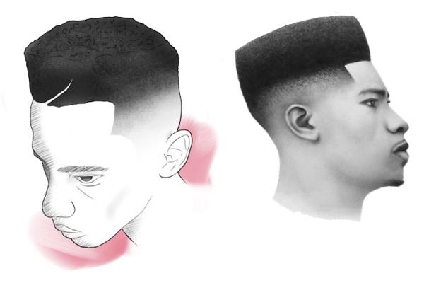 cortes de cabelo masculino flat top