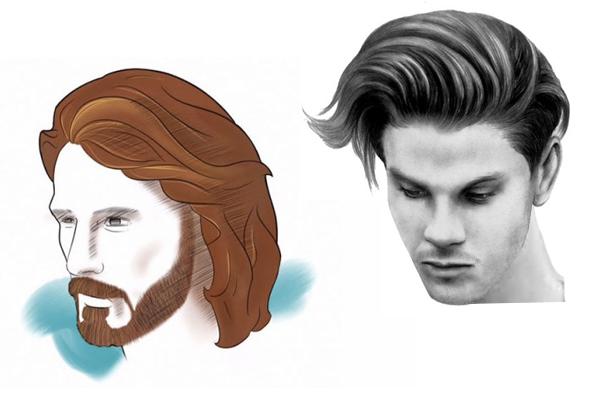 corte masculino cabelo longo