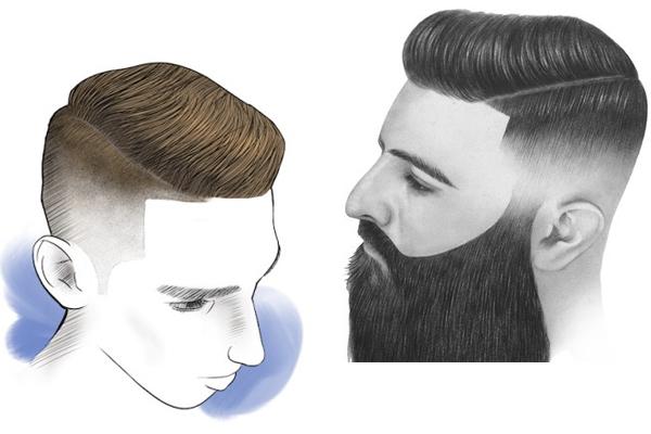 cortes de cabelo masculino side part