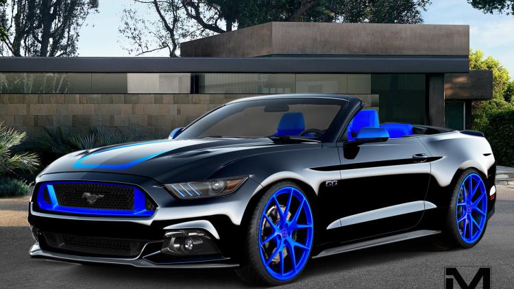 Os 8 Mustangs Customizados Que A Ford Levar Ao SEMA Show