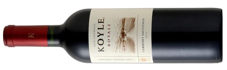 Viña Koyle Cabernet Sauvignon Colchagua Valley Royale Los Lingues Vineyard