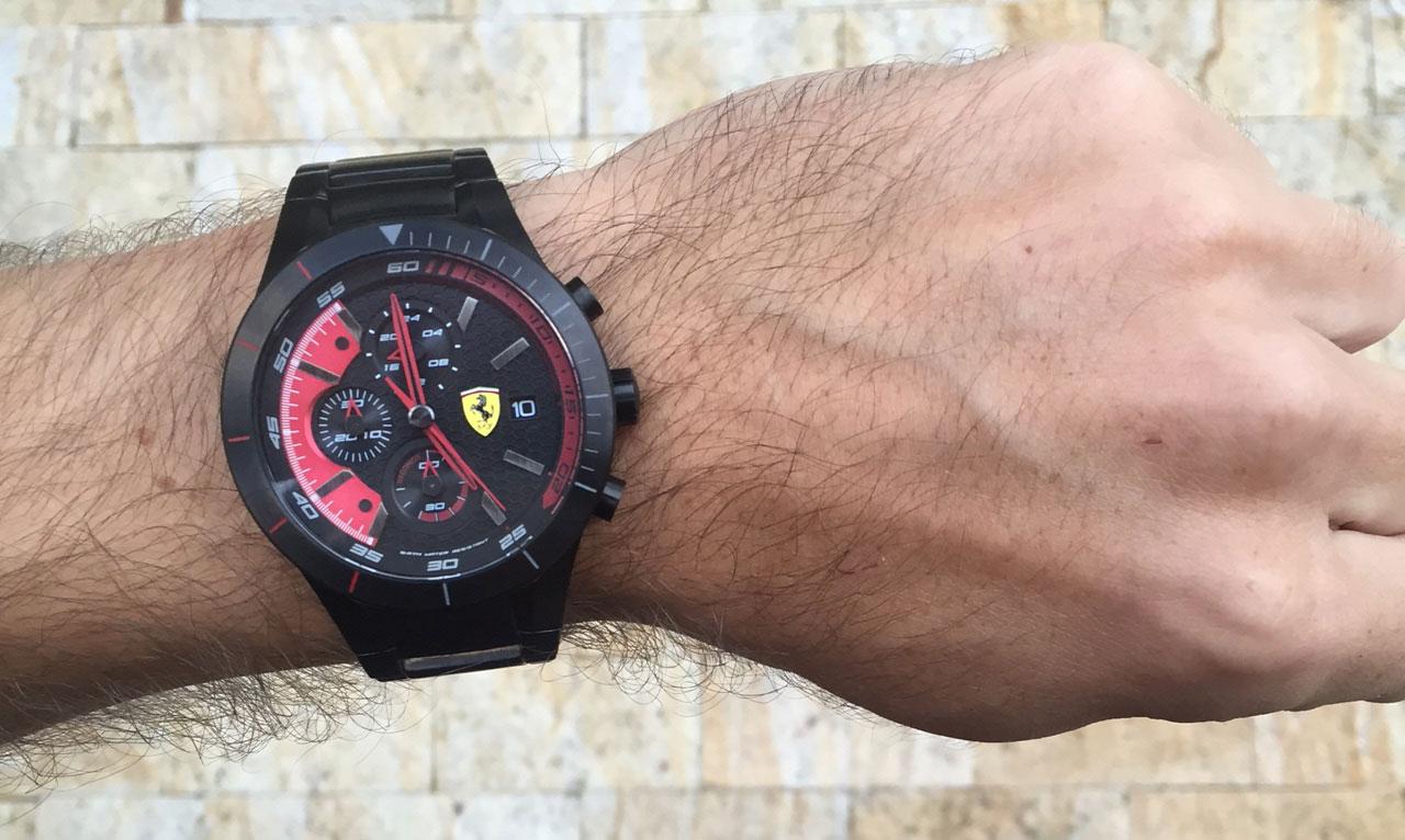 236c40e8cb1 Hombre Lifestyle  Relógio RedRev Evo Scuderia Ferrari - El Hombre