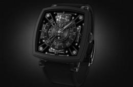 728703c6208 Buraco negro no pulso  o relógio mais preto do mundo custa R  320 mil
