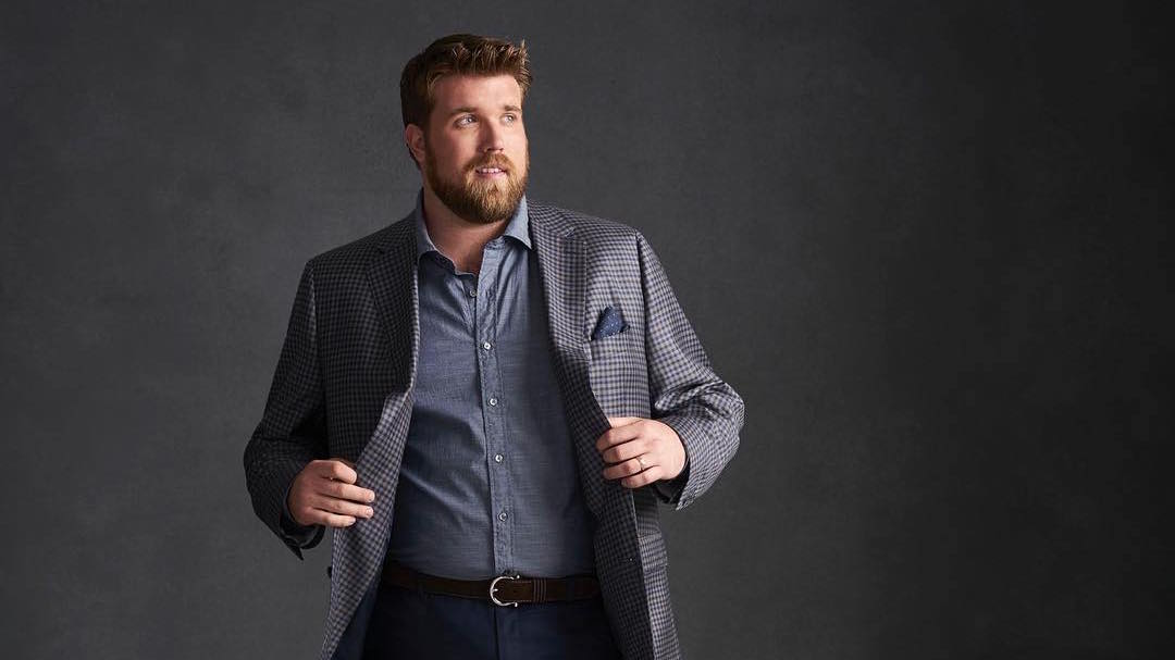 a4d68e0628005 13 dicas de moda para homens plus size - El Hombre