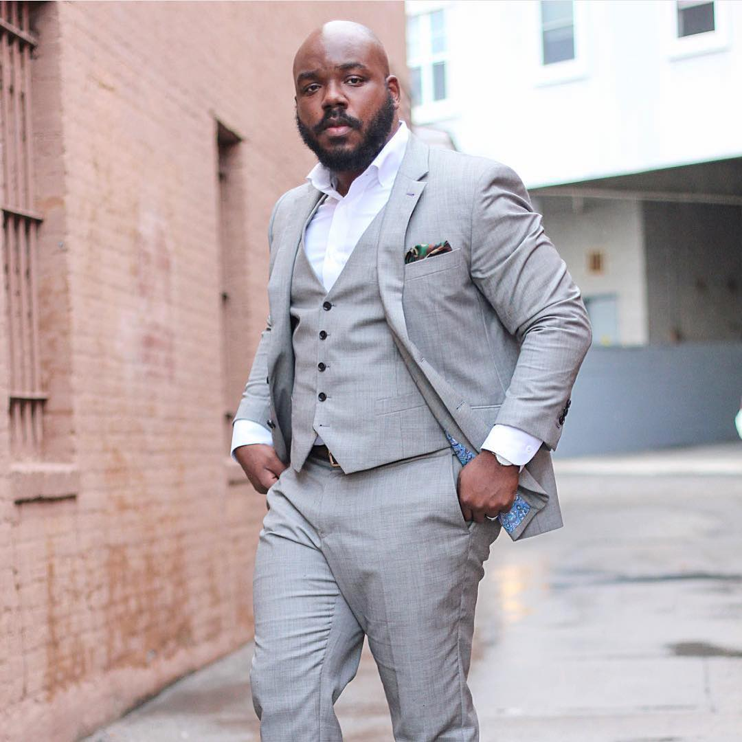 4017edf9cf6b20 13 dicas de moda para homens plus size - El Hombre