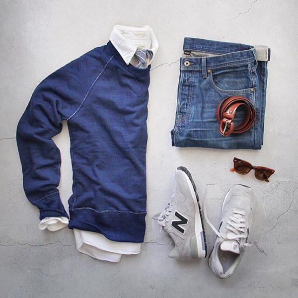 Black Denim Jeans Mens