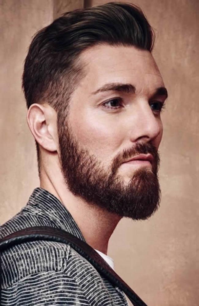 topete moderno corte de cabelo masculino
