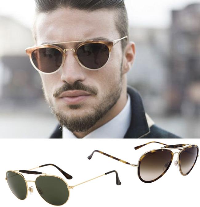 Óculos de sol masculino  9 estilos de armação para ter e usar - El ... be846e250e
