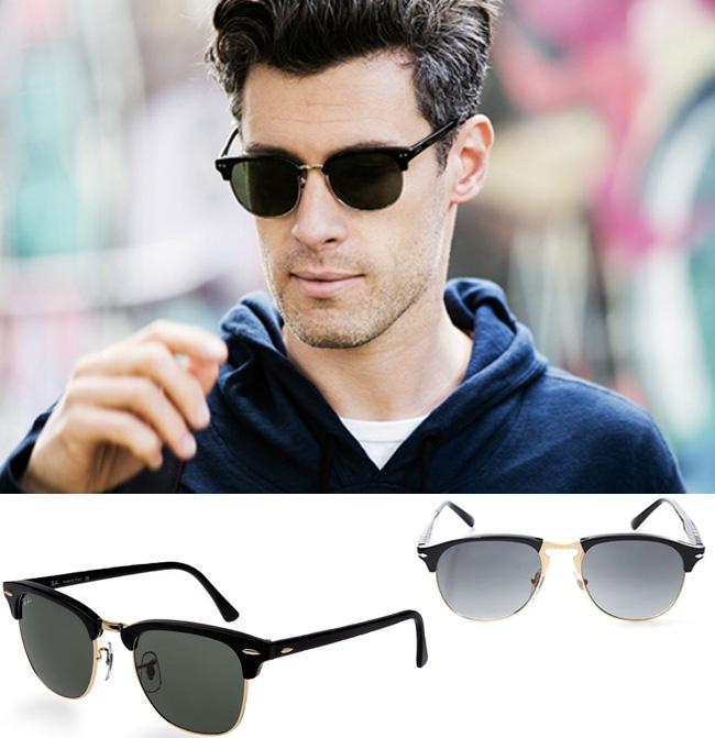 Óculos de sol masculino  9 estilos de armação para ter e usar - El Hombre 54c08b84ccf