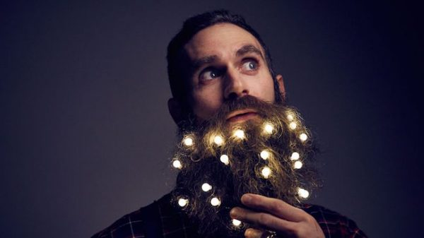 barba luzes natal
