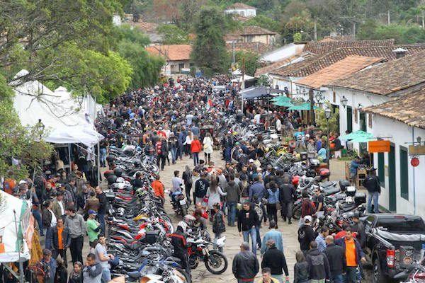 Reprodução / Facebook Tiradentes BikeFest