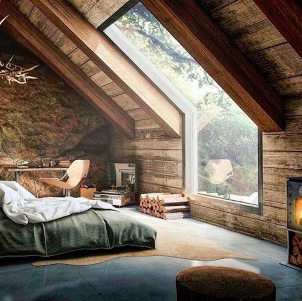 мужской декор спальни
