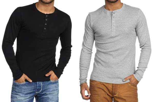 Onde comprar camiseta Henley masculina  9 dicas de lojas online - El Hombre cf7aafa9c32c3