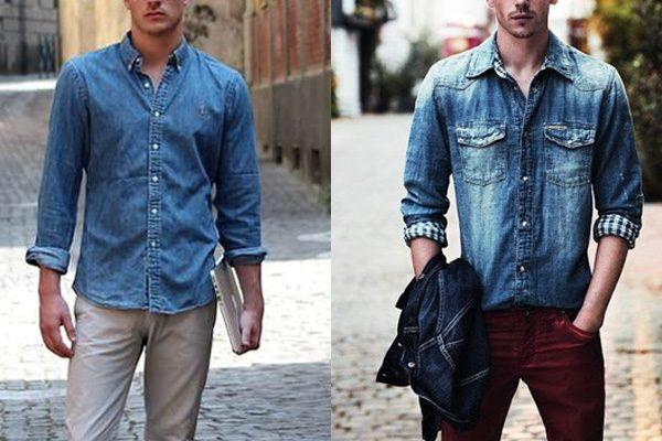 b0a12aeaaad73 Como usar camisa jeans masculina  6 combinações infalíveis - El Hombre