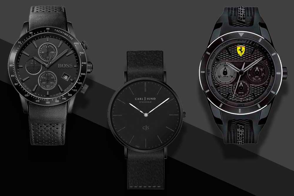 4fcb28d4d3b 14 relógios pretos para comprar agora mesmo - El Hombre