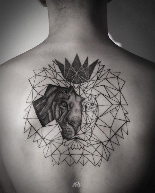 14 ideias de tatuagem masculina para fazer nas costas el hombre. Black Bedroom Furniture Sets. Home Design Ideas