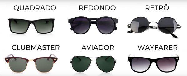 7c68de68a9024 Qual é o tipo ideal de óculos escuros para o formato do seu rosto ...
