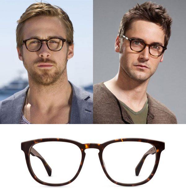 1ad4f6e5b8bca Este aqui é um estilo bastante em alta  óculos de acetato com armação  arredondada ou redonda. Ele traz um ar intelectual e