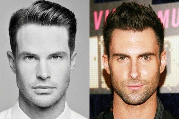 como descobrir formato do rosto masculino
