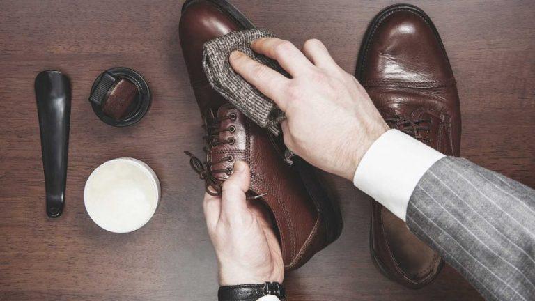 como cuidar do sapato de couro