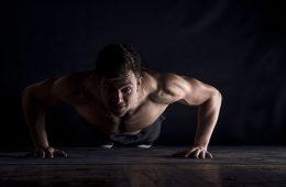 flexão de braço como fazer