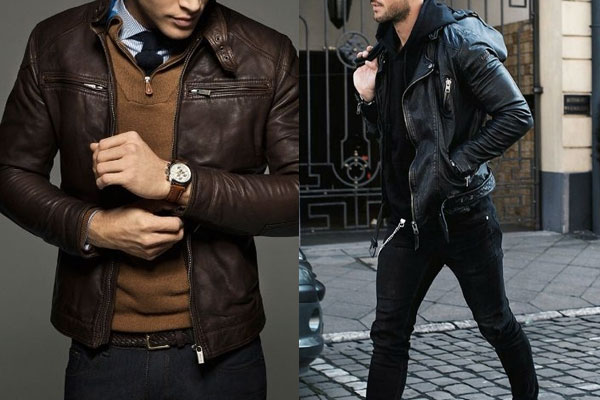 e59a1dc29 A jaqueta de couro é um clássico eterno da moda masculina. Os anos passam