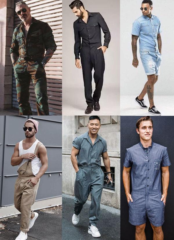 b27493e945864 E quando o assunto é macacão masculino, minha sugestão é não usar. Simples  assim. Fiz uma pesquisa no Pinterest de looks masculinos com macacão.